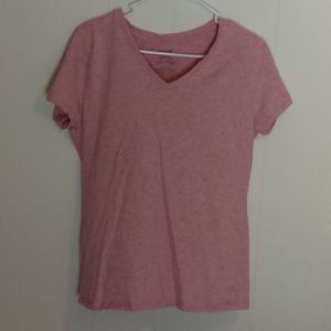 Faded Glory Pink Short Sleeve Top
